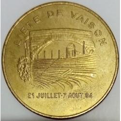 FRANCE - 84 - VAUCLUSE - VAISON-LA-ROMAINE - ECU OF CITY - 1 ECU 1994 - ROMAN BRIDGE