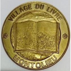 FRANCE - 11 - AUDE - MONTOLIEU - ECU DES VILLES - 1 ECU 1994 - VILLAGE OF THE BOOK