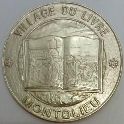 FRANCE - 11 - AUDE - MONTOLIEU - ECU DES VILLES - 25 ECUS 1994 - VILLAGE OF THE BOOK