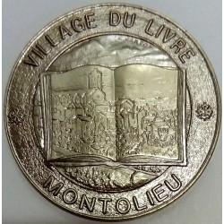 FRANCE - 11 - AUDE - MONTOLIEU - ECU DES VILLES - 5 ECUS 1994 - VILLAGE OF THE BOOK
