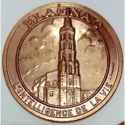 FRANCE - 31- HAUTE-GARONNE - BLAGNAC - ECU OF CITY - 1.5 ECUS 1994 - Church