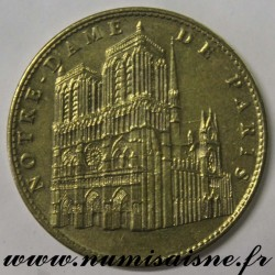 County 75 - CATHEDRAL NOTRE DAME OF PARIS - TOURIST TOKEN - 2007