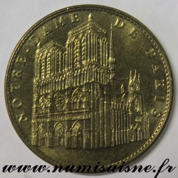 County 75 - CATHEDRAL NOTRE DAME OF PARIS - TOURIST TOKEN - 2009
