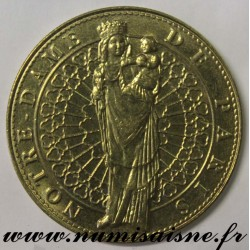 County 75 - CATHEDRAL NOTRE DAME OF PARIS - TOURIST TOKEN - 2008