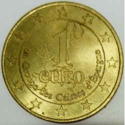 FRANCE - CAISSE D'EPARGNE - EURO OF CITY - 1 EURO 1997