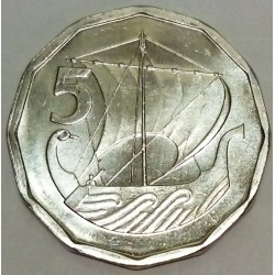 CYPRUS - KM 50.1 - 5 MILS 1981 - Galley