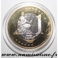 VATICAN - 1 EURO 2011 - BENEDICT XVI - TRIAL COIN