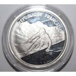 FRANCE - KM 971 - 100 FRANCS 1989 - TYPE ALBERVILLE 1992 - ALPINE SKIING