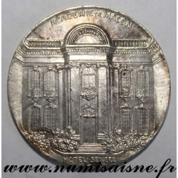 FRANCE - MEDAL - ACADEMY OF MACON - HOTEL SENECE - CELEBRATION OF VICTORY AND PEACE - 09/14/1919