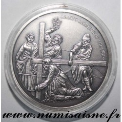 MEDAL - CHRISTS CARRYING OF THE CROSS