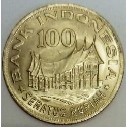 INDONESIA - KM 42 - 100 RUPIAH 1978 - 100 RUPIAH 1978 - TRADITIONAL HOUSES