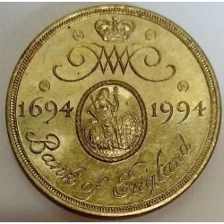 UNITED KINGDOM - KM 968 - 2 PENCE 1994 - ELIZABETH II - 300 YEARS OF THE BANK OF ENGLAND