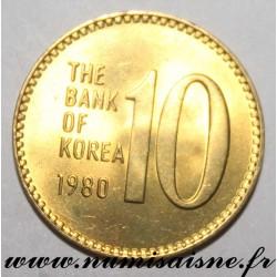SOUTH KOREA - KM 6a - 10 WON 1980