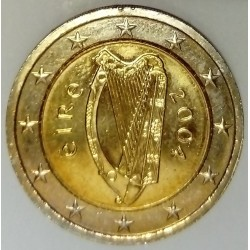IRELAND - KM 39 - 2 EURO 2004 - CELTIC HARP