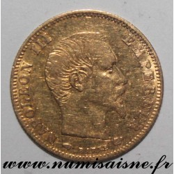 FRANCE - KM 803 - 5 FRANCS 1863 A - Paris - NAPOLEON III - GOLD