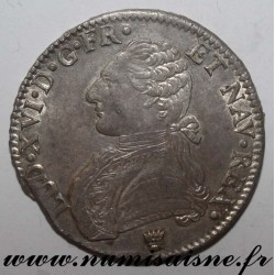 FRANCE - KM 564 - LOUIS XVI - ECU WITH OLIVE BRANCH - 1785 I - Limoges