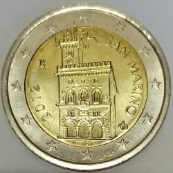 SAN MARINO - KM 486 - 2 EURO 2012 - PALAZZO PUBBLICO