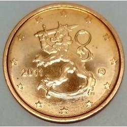 FINLAND - KM 99 - 2 EURO CENT 2011 - THE HERALDIC LION