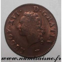 FRANCE - KM 585 - LOUIS XVI - LIARD 1789 M - Toulouse
