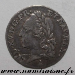 FRANCE - KM 552 - LOUIS XVI - 1/20 ECU WITH OLD HEAD - 1779 A - Paris