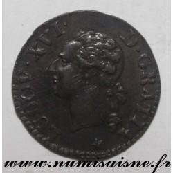 Gad 348 - LOUIS XVI - LIARD 1790 W - Lille - KM 585