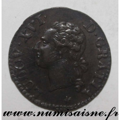 FRANCE - KM 585 - LOUIS XVI - LIARD 1790 W - Lille