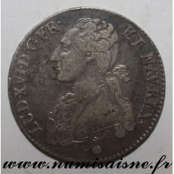 FRANCE - Gad 355 - LOUIS XVI - 1/2 ECU WITH OLIVE BRANCHES - 1790 AA - Metz