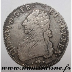 FRANCE - KM 564 - LOUIS XVI - ECU WITH OLIVIE BRANCHES 1779 L - Bayonne
