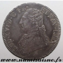FRANCE - KM 564 - LOUIS XVI - ECU WITH OLIVE BRANCHES - 1789 A - Paris