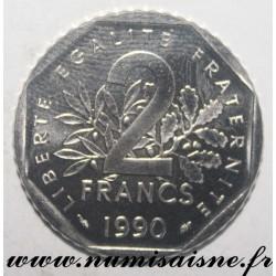FRANCE - KM 942 - 2 FRANCS 1990 - TYPE SOWER