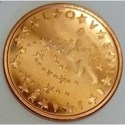 SLOVENIA - KM 70 - 5 EURO CENT 2007 - THE SOWER OF STARS