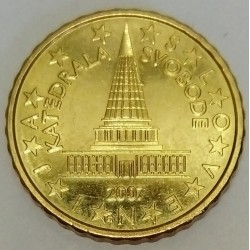 SLOVENIA - KM 71 - 10 EURO CENT 2007 - CATHEDRAL OF FREEDOM