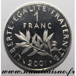 FRANCE - KM 925 - 1 FRANC 2001 - TYPE SOWER