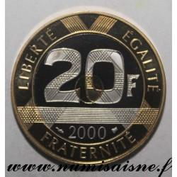 FRANCE - KM 1008 - 20 FRANCS 2000 - TYPE MONT SAINT MICHEL