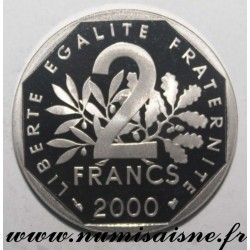 FRANCE - KM 942 - 2 FRANCS 2000 - TYPE SOWER
