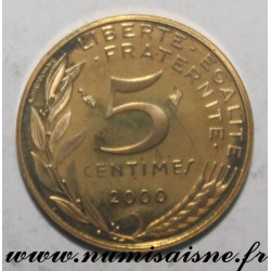 FRANCE - KM 933 - 5 CENTIMES 2000 - TYPE MARIANNE