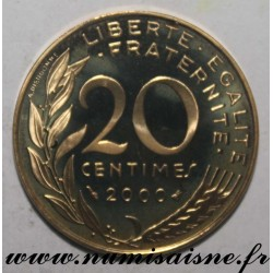 FRANCE - KM 930 - 20 CENTIMES 2000 - TYPE MARIANNE
