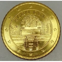 AUSTRIA - KM 3141 - 50 EURO CENT 2011 - SECESSION PALACE
