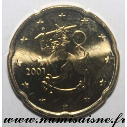 FINLAND - KM 102 - 20 CENT 2001