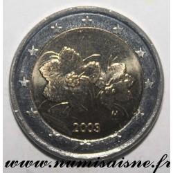 FINLANDE - KM 105 - 2 EURO 2001 - RUBUS CHAMAEMORUS - LAKKA