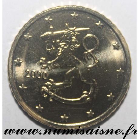 FINLAND - KM 103 - 50 CENT 2000