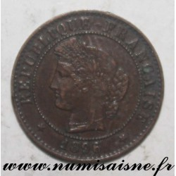 FRANCE - KM 826 - 1 CENTIME 1897 A - Paris - TYP CÉRÈS
