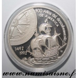 MEXICO - MEDAL - 500 YEARS OF THE DISCOVERY OF THE AMERICAS 1492 - 1992