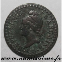FRANCE - KM 646 - 1 CENTIME YEAR 6 A - Paris - TYPE DUPRE - Small 6