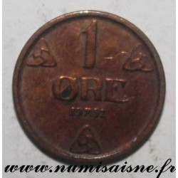 NORWAY - KM 367 - 1 ORE 1952