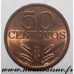 PORTUGAL - KM 596 - 50 CENTAVOS 1979
