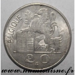BELGIUM - KM 140 - 20 FRANCS 1950 - FRENCH LEGEND