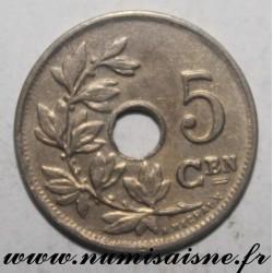 BELGIUM - KM 67 - 5 CENTIMES 1920 / 10 - Flemish legend - LEOPOLD 1st