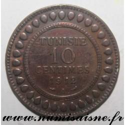 TUNISIA - 10 CENTIMES 1912 A