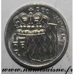 MONACO - KM 145 - 1/2 FRANC 1979